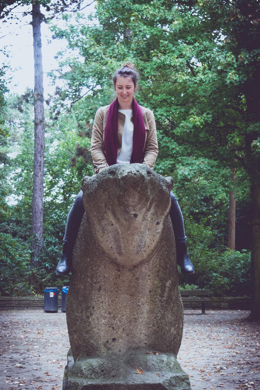 Steffi und der Bär