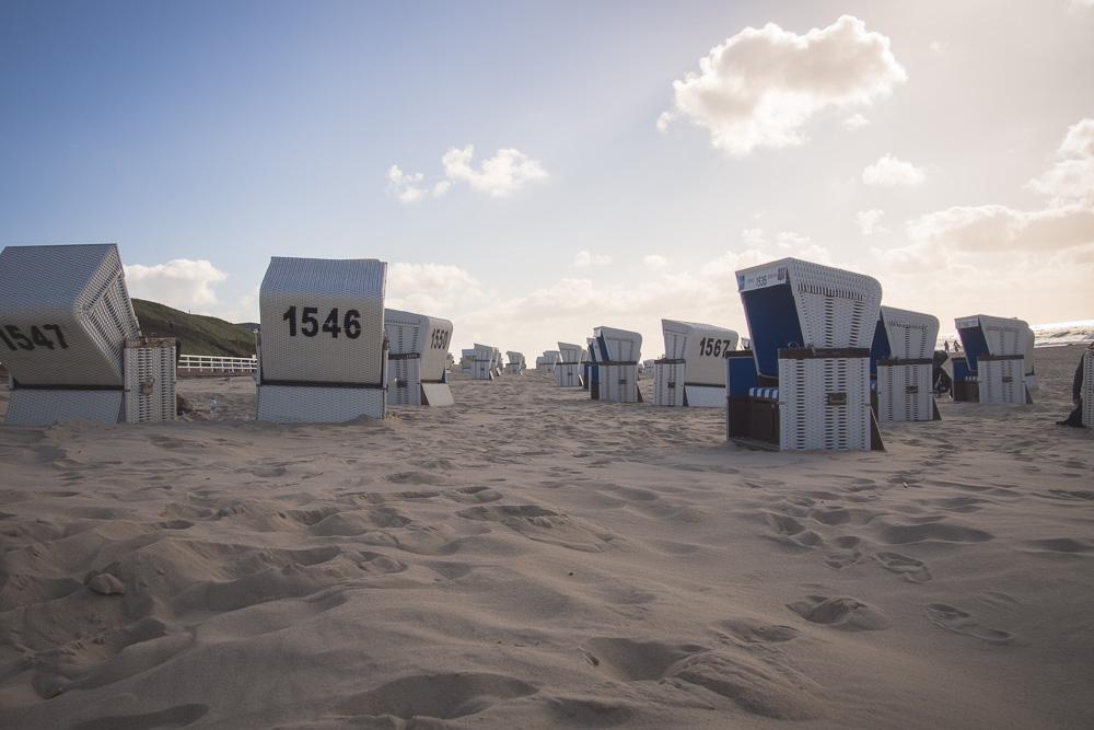 Sylt Strand – Strandkörbe