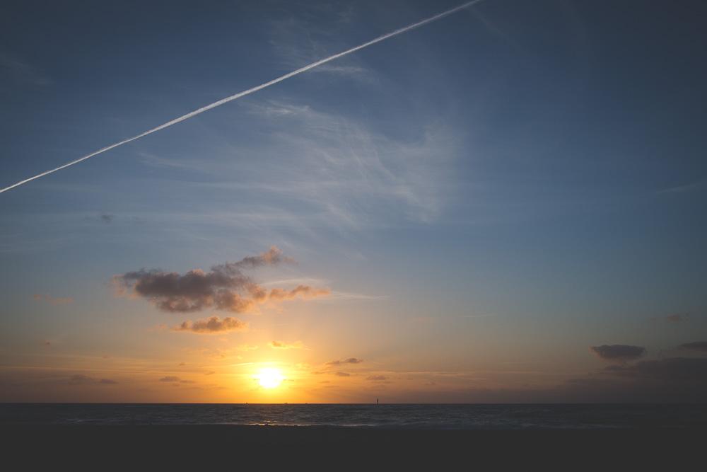 Sylt Strand – Sonnenuntergang