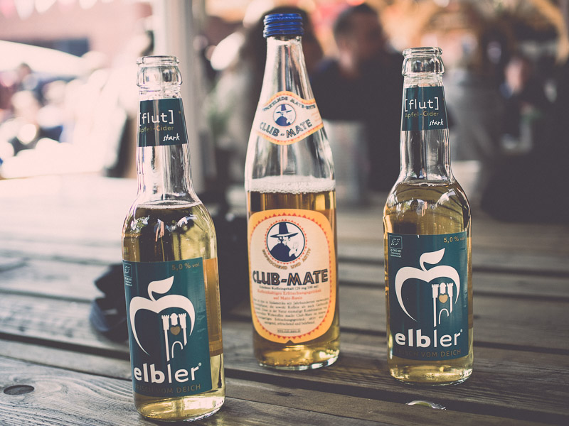 elbler trifft Club Mate