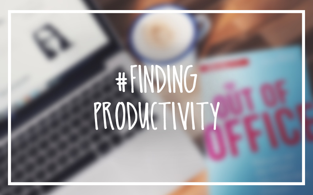 #findingproductivity Headerbild