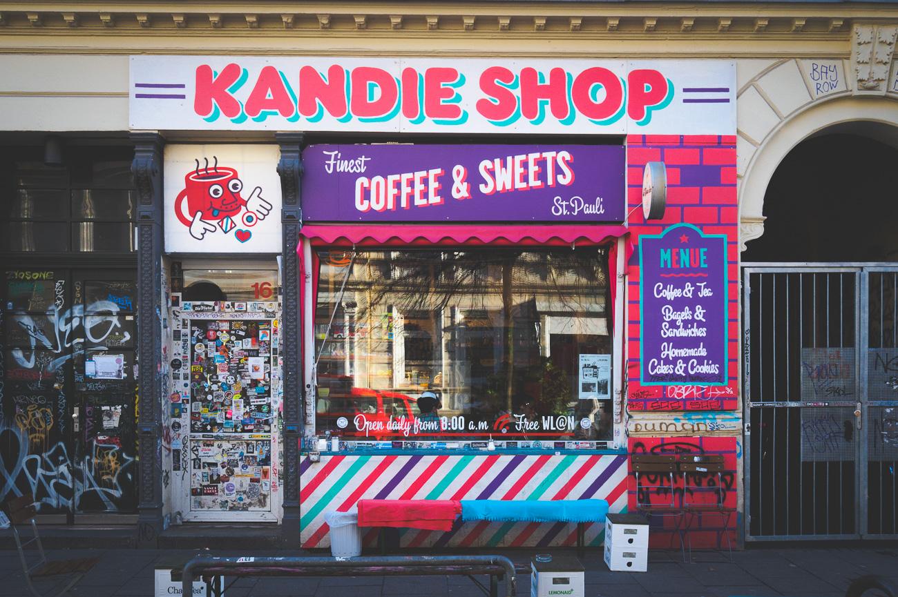 Kandie Shop in der Wohlwillstraße