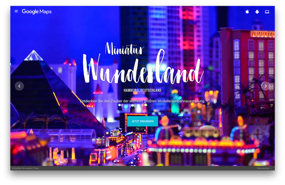 #MiniView – Das Miniatur Wunderland in digital
