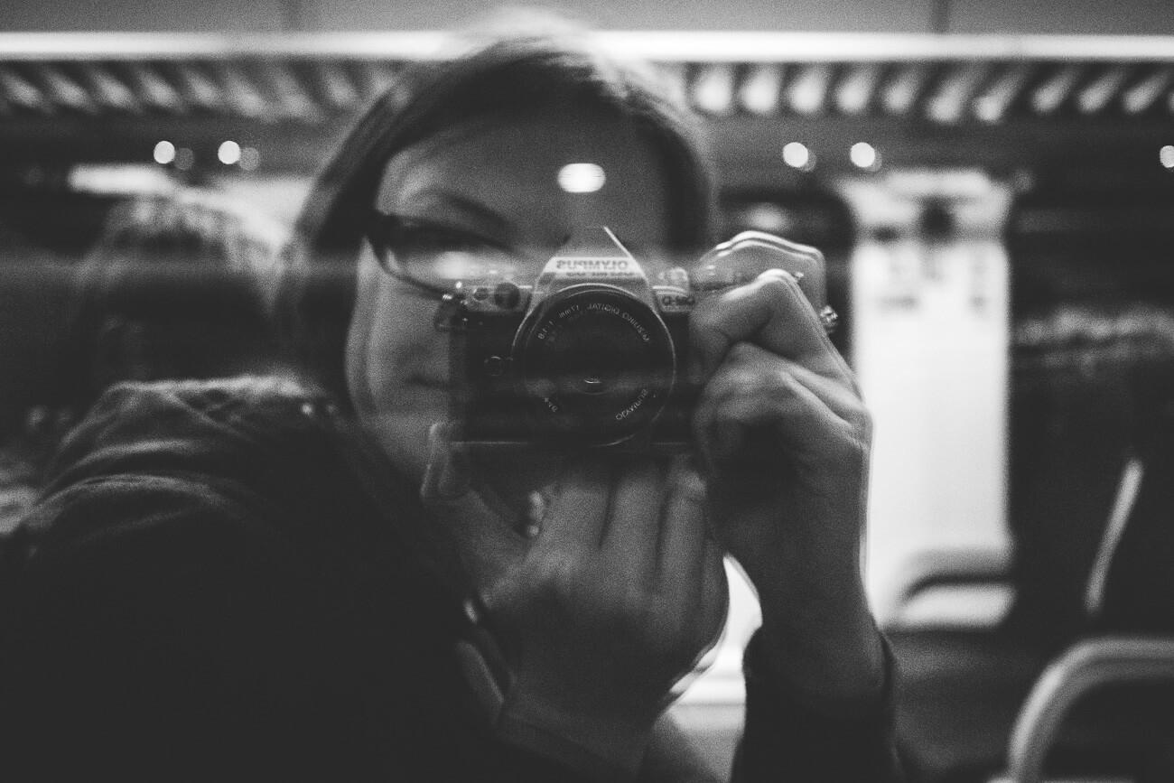 Spiegel-Selfie