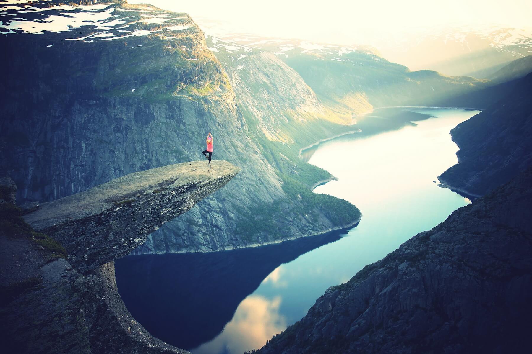 Yoga-Challenge in der Natur