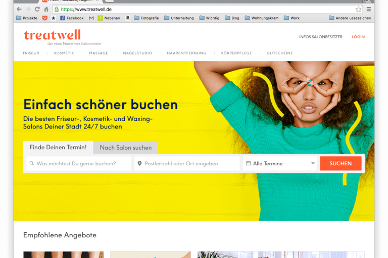 Beautytime mit Treatwell