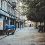 Prager Innenstadt am Morgen