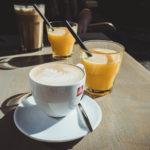 Frühstücken in Prag