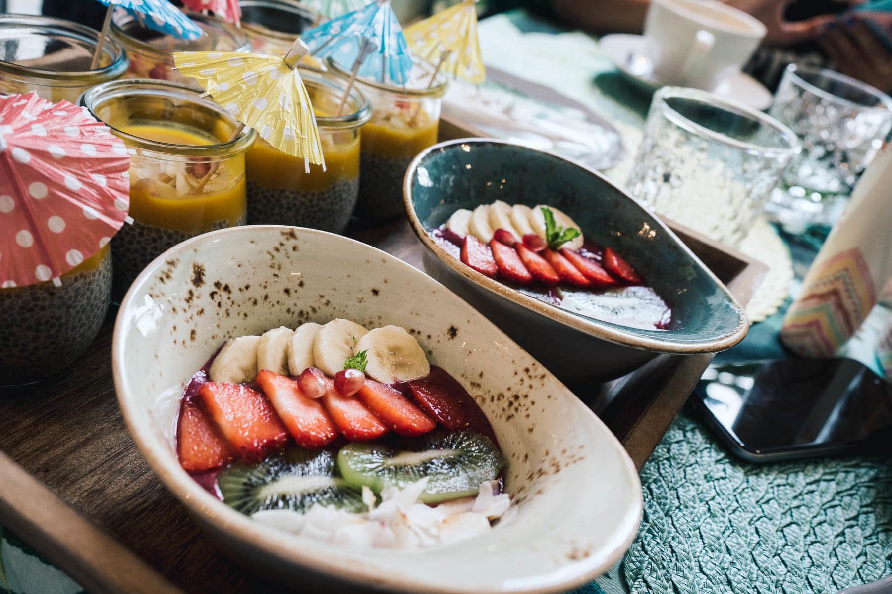 Frühstücksbrunch mit Palmolive & Farina Opoku