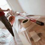 Renovieren des Wohnzimmers