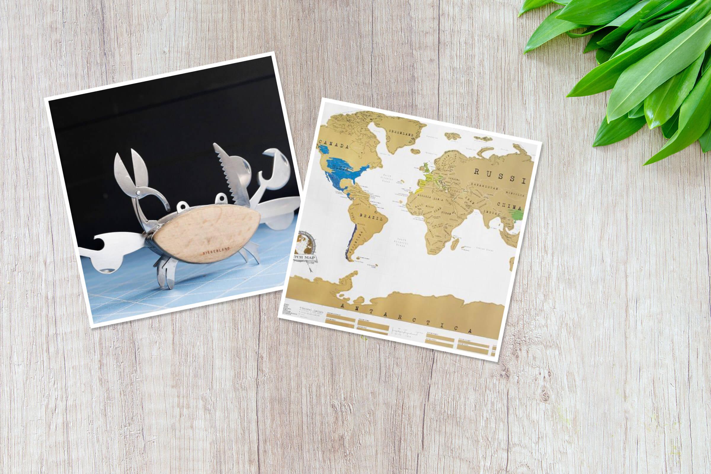 Geburtstagsgeschenke für Reise-Freunde