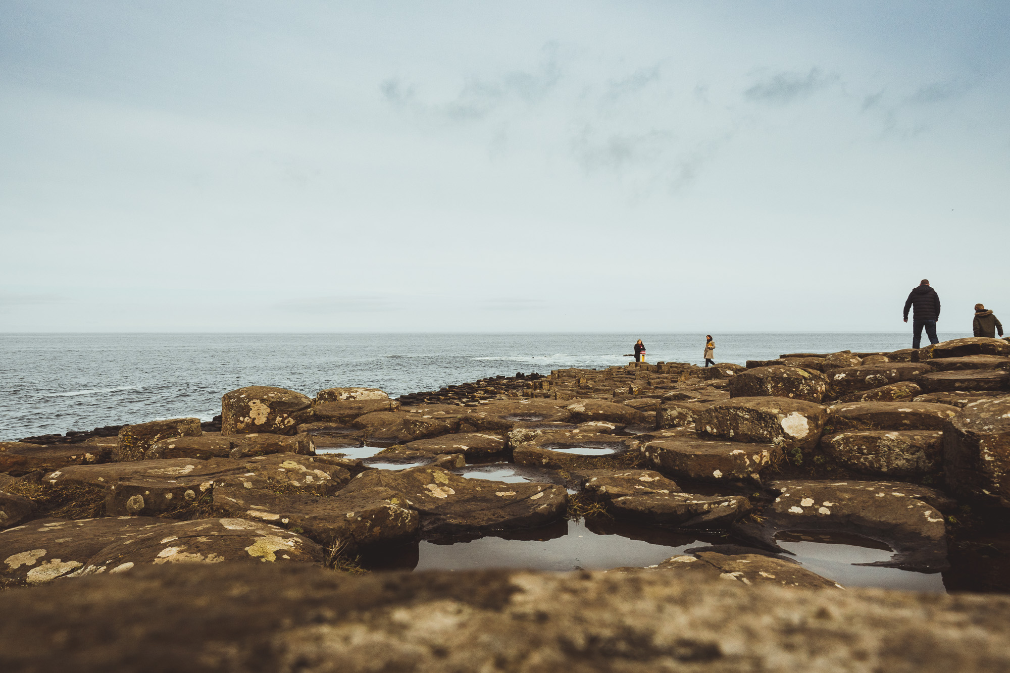 Irland – Giant's Causeway