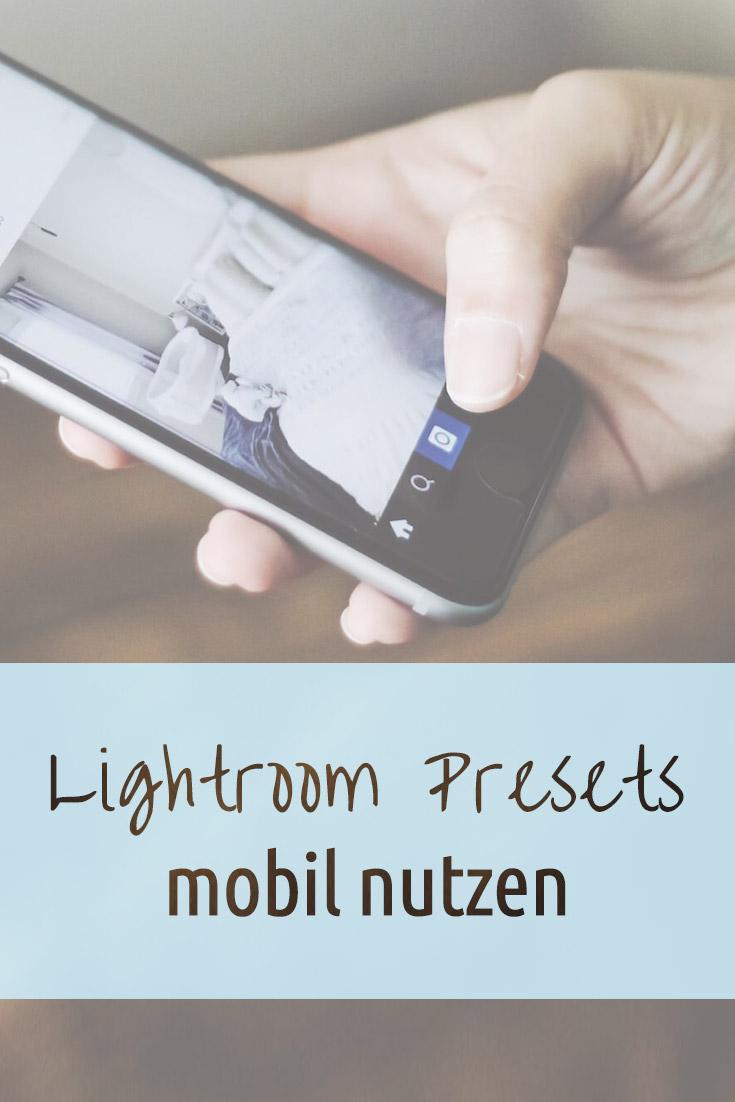 Eine einfache Anleitung, wie Du Lightroom Presets zwischen Desktop und Smartphone synchronisieren kannst.