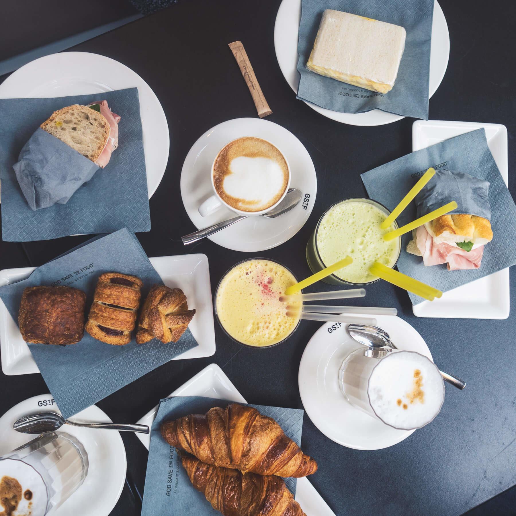 Das erste Essen und der erste Kaffee in Mailand | zimtstern.in