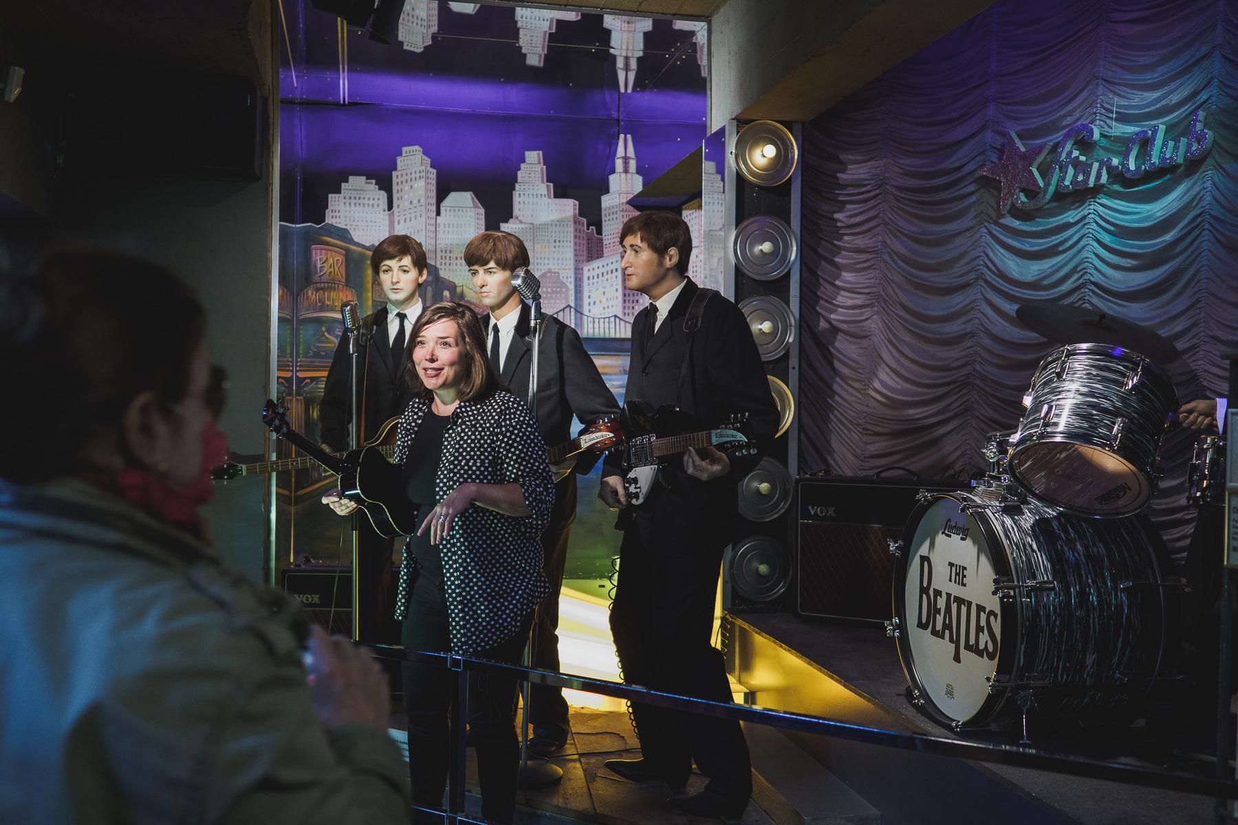 Die Beatles im Panoptikum