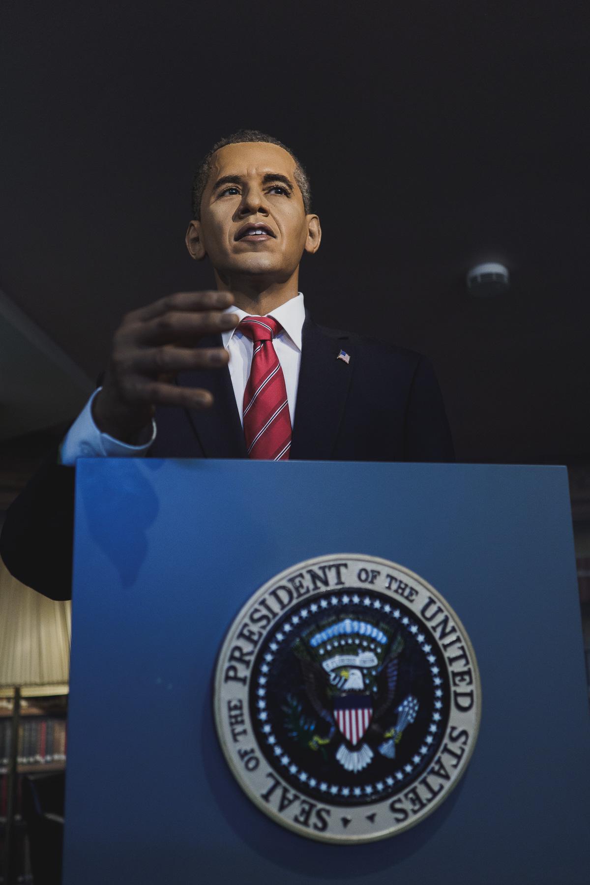 Barack Obama im Panoptikum